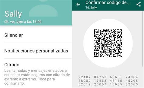 codigo de verificacion de whatsapp youtube la verificaci 243 n del cifrado en whatsapp al descubierto