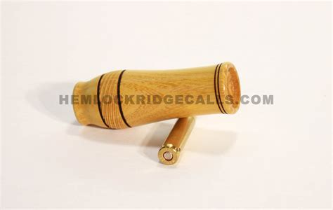 Handmade Coyote Calls - custom rabbit distress call hemlock ridge custom calls