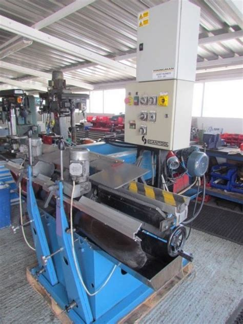 scantool model  twin head centreless linisher  sale
