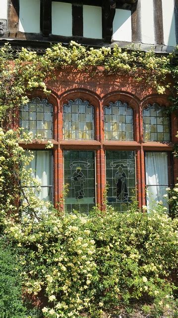 country style windows wightwick manor english english country decor and tudor
