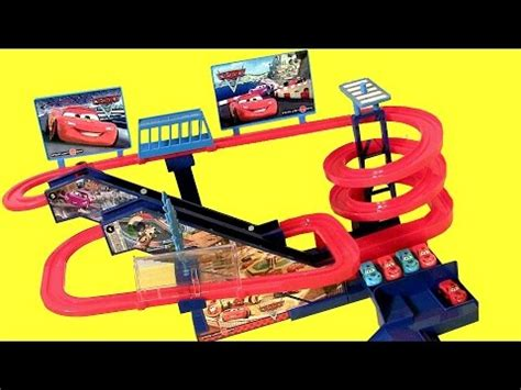 Lightning Mcqueen Car Track Disney Pixar Cars Racing Musical Ultimate Race Track