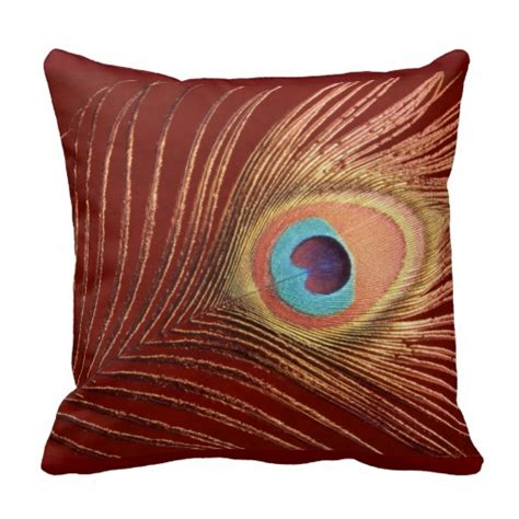 Peacock Accent Pillows by Peacock Pillow