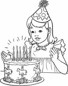 birthday party coloring pages az coloring pages