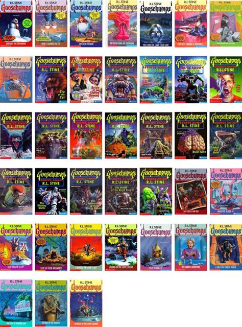 list of goosebumps books with pictures 42 best goosebumps books images on book series