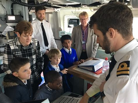 Ready Stelan St Dylon Kid Navy hms st albans gives students an intro to at sea