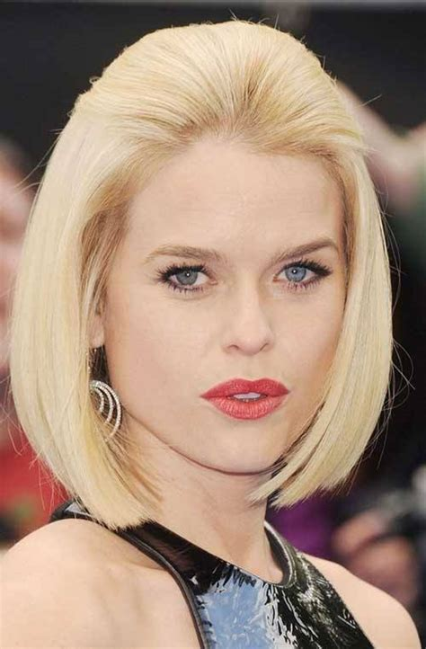 Blonde Bob Round Face | style check 3 sexiest hairstyles for round faces