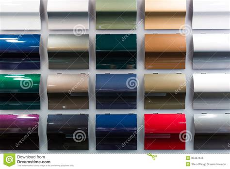 car paint sles stock images image 30447844