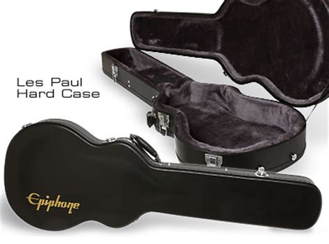 Hardcase Gitar Les Paul Hitam epiphone cases