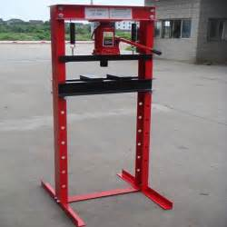 press 20 tonne industrial hydraulic workshop garage