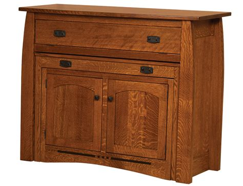 colebrook buffet w pullout table details