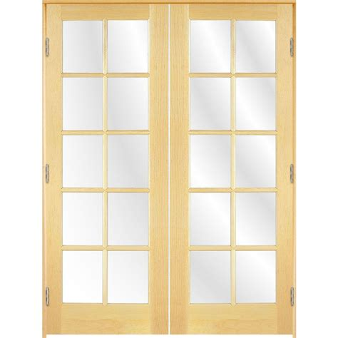 48 inch interior door shop reliabilt prehung 10 lite pine interior door