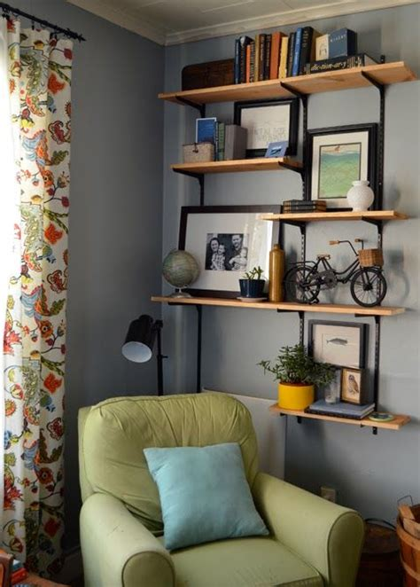 25 best ideas about living room shelves on