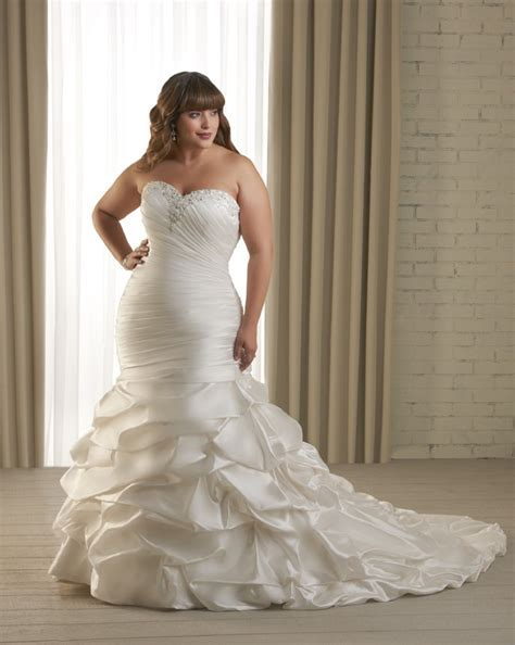 Wedding Dresses Plus Size by Plus Size Wedding Dresses Gowns Styler