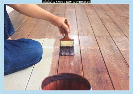 pvc boden streichen fu 223 boden streichen mit kreidefarbe wandelbar wohnen