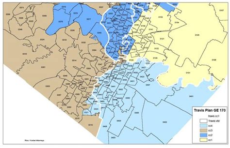 texas precinct map amid accusations of gerrymandering travis county accepts new political boundaries kut