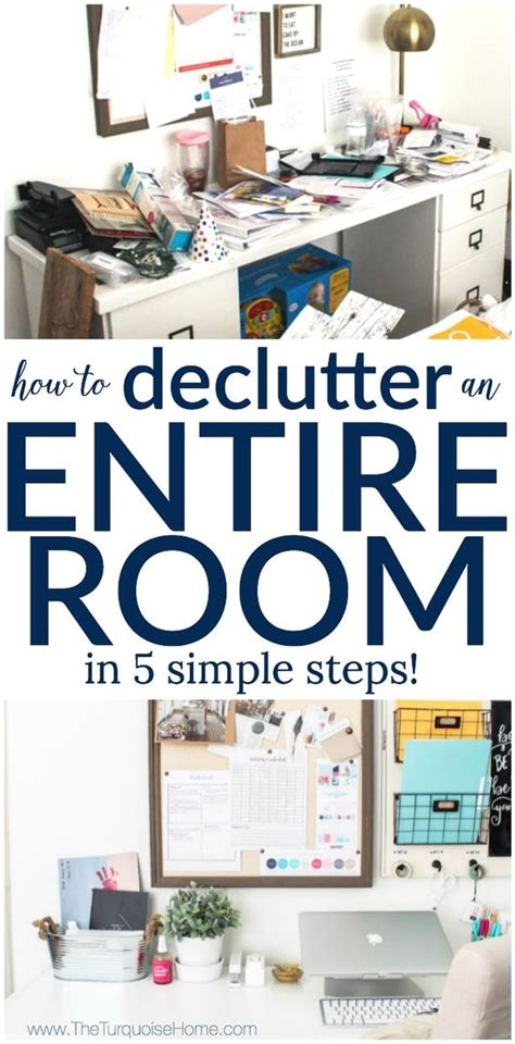 how to declutter a room how to declutter an entire room in 5 simple steps my organized office