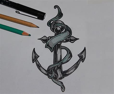 anchor tattoo drawings fashionplaceface com