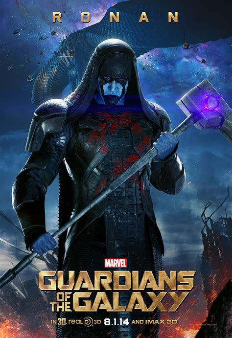 film marvel guardians of the galaxy guardians of the galaxy posters featuring ronan nebula