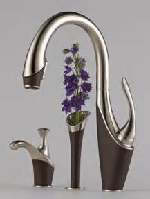 designer faucets kitchen brizo vuelo kitchen faucet designer homes