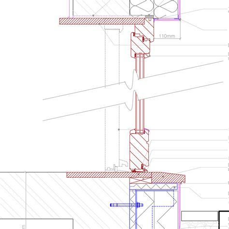 timber frame section detail new window to ewi retrofit installation retrofit