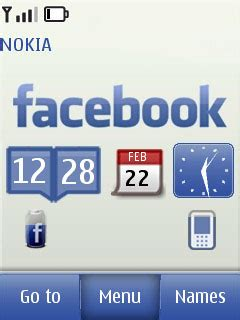 themes facebook mobile download facebook touch and type nokia theme mobile toones