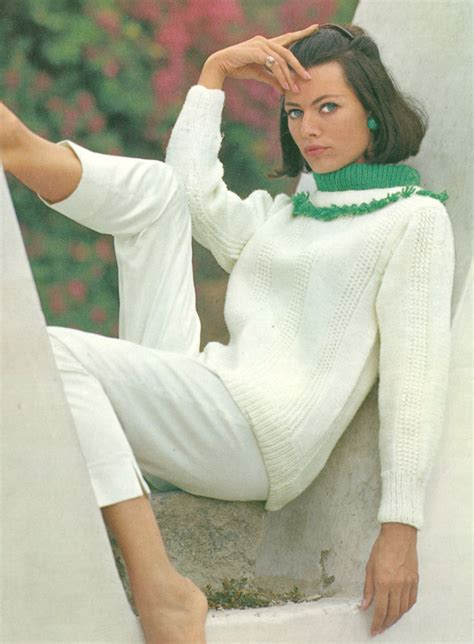 Rising Sz 26 30 pdf 6406 rising excitement vintage 1960s knitted contrast