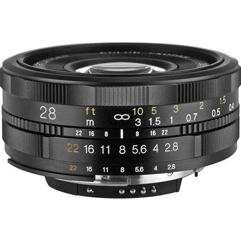 Voigtlander Nikon voigtlander 28mm f 2 8 color skopar sl ii lens for nikon