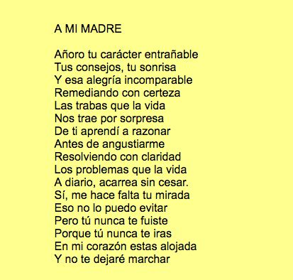 poesias al dia de la madre con 6 estrofas poemas y poes 237 as para el d 237 a de la madre 2018