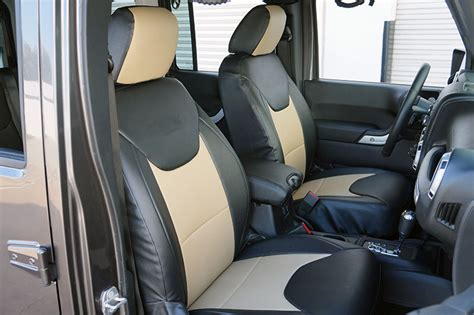 Custom Seats For Jeep Wrangler Jeep Wrangler 2013 2016 Iggee S Leather Custom Seat Cover