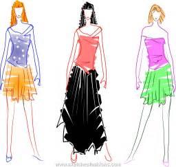 sketches fashions beginners fashion model sketch