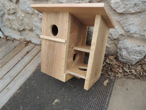 how do you build a house squirrel house by rrdesigns lumberjocks com