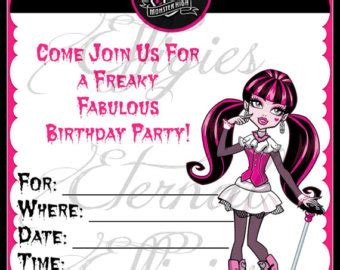7 best images of monster high printable sticker templates