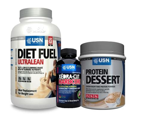 nu u supplements usn weight loss cutting stack