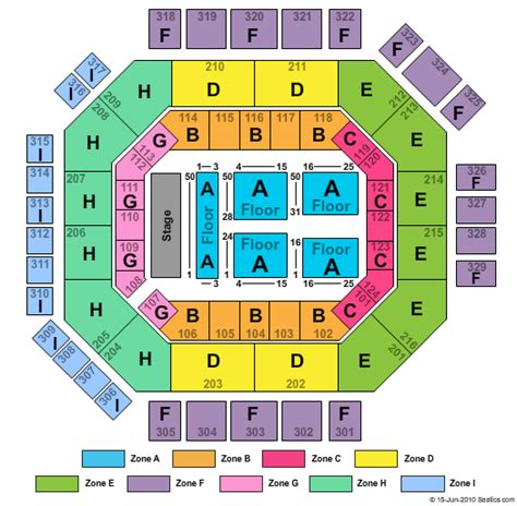 edgefield seating chart tickets clickitticket