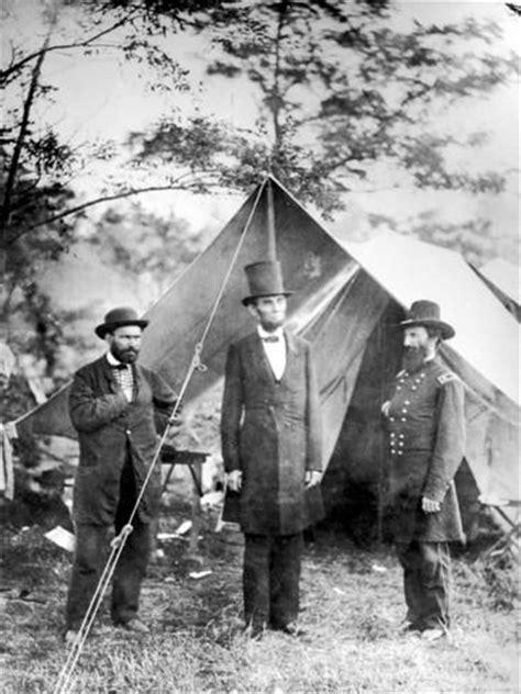abraham lincoln biography during the civil war maj allan pinkerton us president abraham lincoln and gen