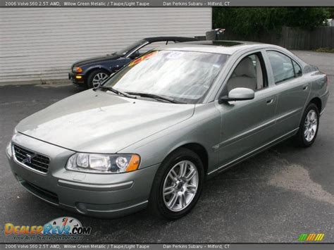 2006 volvo s60 2 5t 2006 volvo s60 2 5t awd willow green metallic taupe
