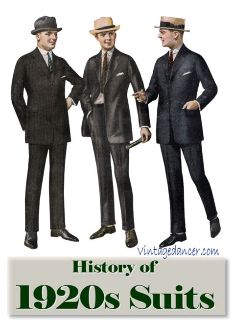 mens suits and fashions of the 1920s hairstyles