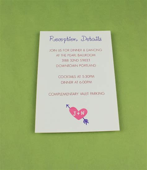 reception detail card free template wedding reception card template with tree