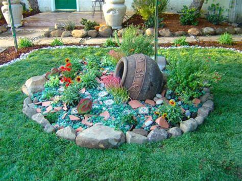 Landscape Rock Recycling Rock Glass And Compost Tumblers Vibrators On