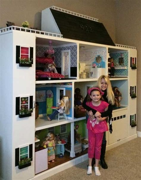 barbie big doll house wow look at this american girl doll house my girls would love this american girl doll ideas
