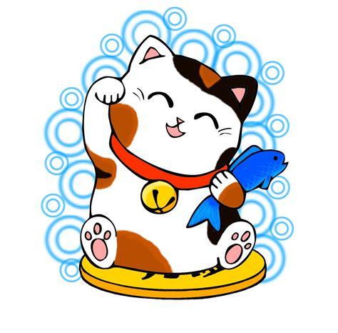 Kucing Neko Cat maneki neko maneki neko kucing keberuntungan lucky