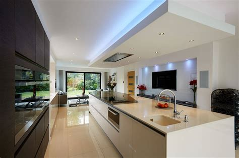One Of Our Open Plan Kitchen Living Dining Spaces On A