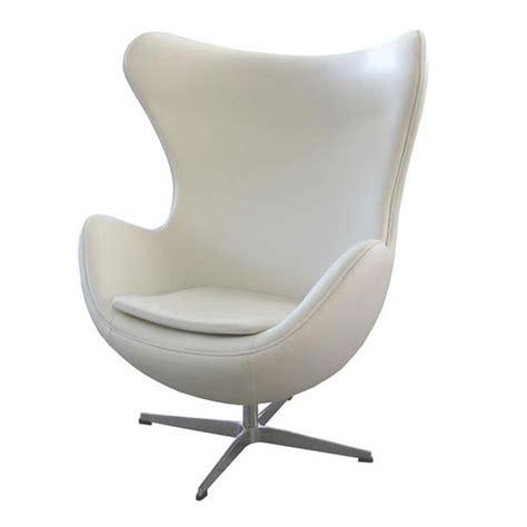 Modern Egg Chair ifn modern kt430 genuine leather egg style chair