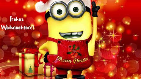 fantastisch lustige minions bilder frohe weihnachten  frohes weihnachten und neues jahr