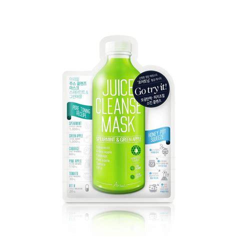 Green Apple Detox Juice by Spearmint Green Apple Juice Cleanse Mask