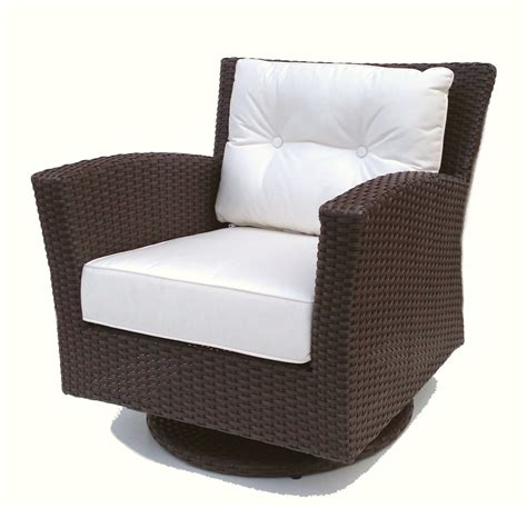 Outdoor Wicker Swivel Chairs Outdoor Wicker Swivel Rocker Chair Sonoma