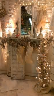 shabby chic christmas decorations 14 all about christmas