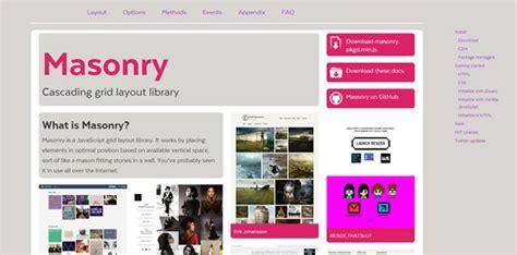 masonry layout wordpress plugin 15 best jquery layout plugins code geekz