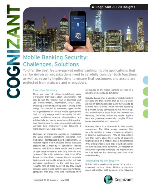 challenges of mobile banking mobile banking security challenges solutions