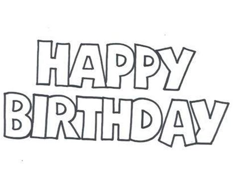 printable birthday stencils 8 best images of happy birthday free printable letters